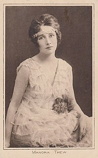 Manora Thew English actress