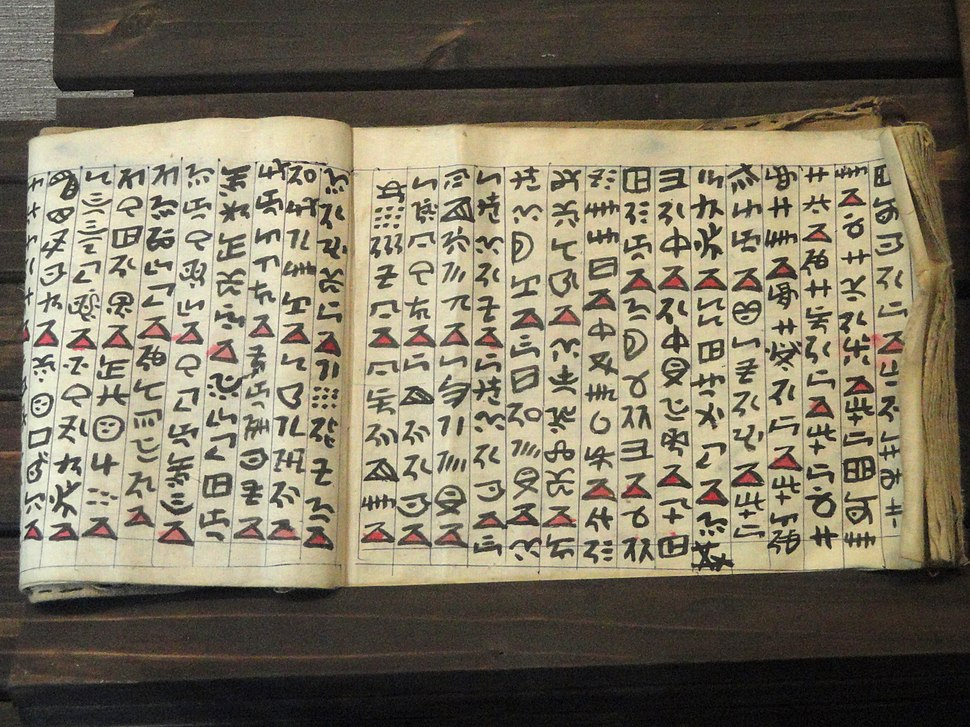 Manuscripts in the Yunnan Nationalities Museum - DSC03972