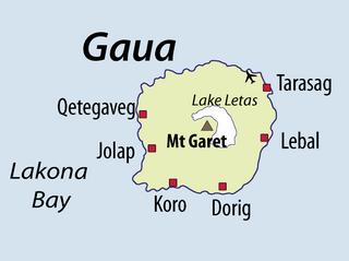 Gaua island