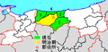 Map Tohaku District, Tottori en.png