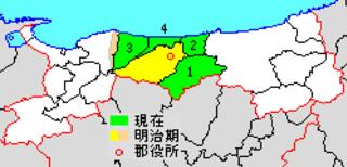 Tōhaku District district of Japan