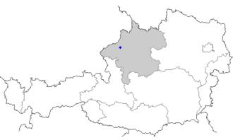 Mehrnbach - Image: Map at mehrnbach
