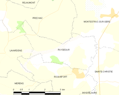Map commune FR insee code 32337.png