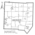 Map of Mercer County, Pennsylvania No Text.png