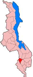 Location of Neno District in Malawi