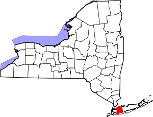 Map of New York highlighting Nassau County.svg