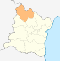 Map of Valchi dol municipality (Varna Province).png