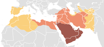 Map of expansion of Caliphate.svg