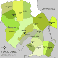 Municipalities of Los Serranos
