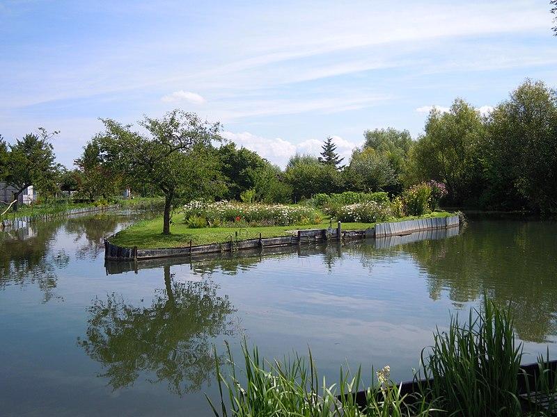 Canal in Marais de Bourges