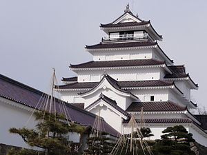 March 2011 The Aizu-Wakamatsu Castle.jpg