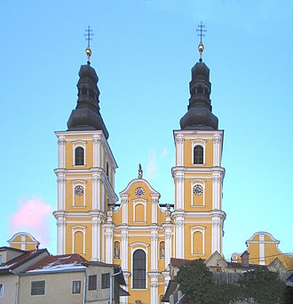 Pilgrimage church - Mariatrost Basilica in Graz