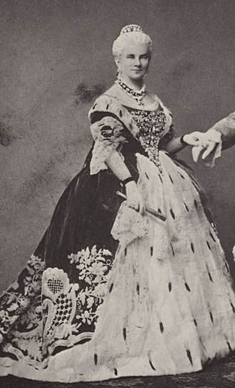 Marie of Prussia - Queen Marie of Bavaria, 1864