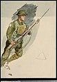 Marine with a Lee Enfield rifle and bayonet- Zeebrugge, 1918 RMG PU9966.jpg