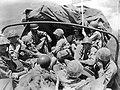 Marines ride to Tinian beach.jpg
