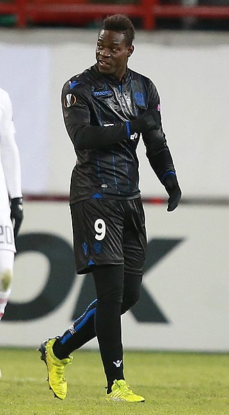 Mario Balotelli - Balotelli with Nice in 2016.