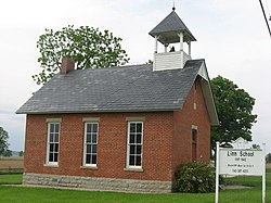 Former Marion Township Sub-District No. 8 School on State Route 4