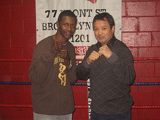 Mark Breland - Breland (left) and Serik Konakbayev (right) in 2010
