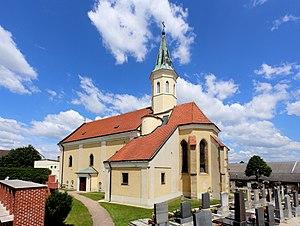 Markgrafneusiedl - Parish church