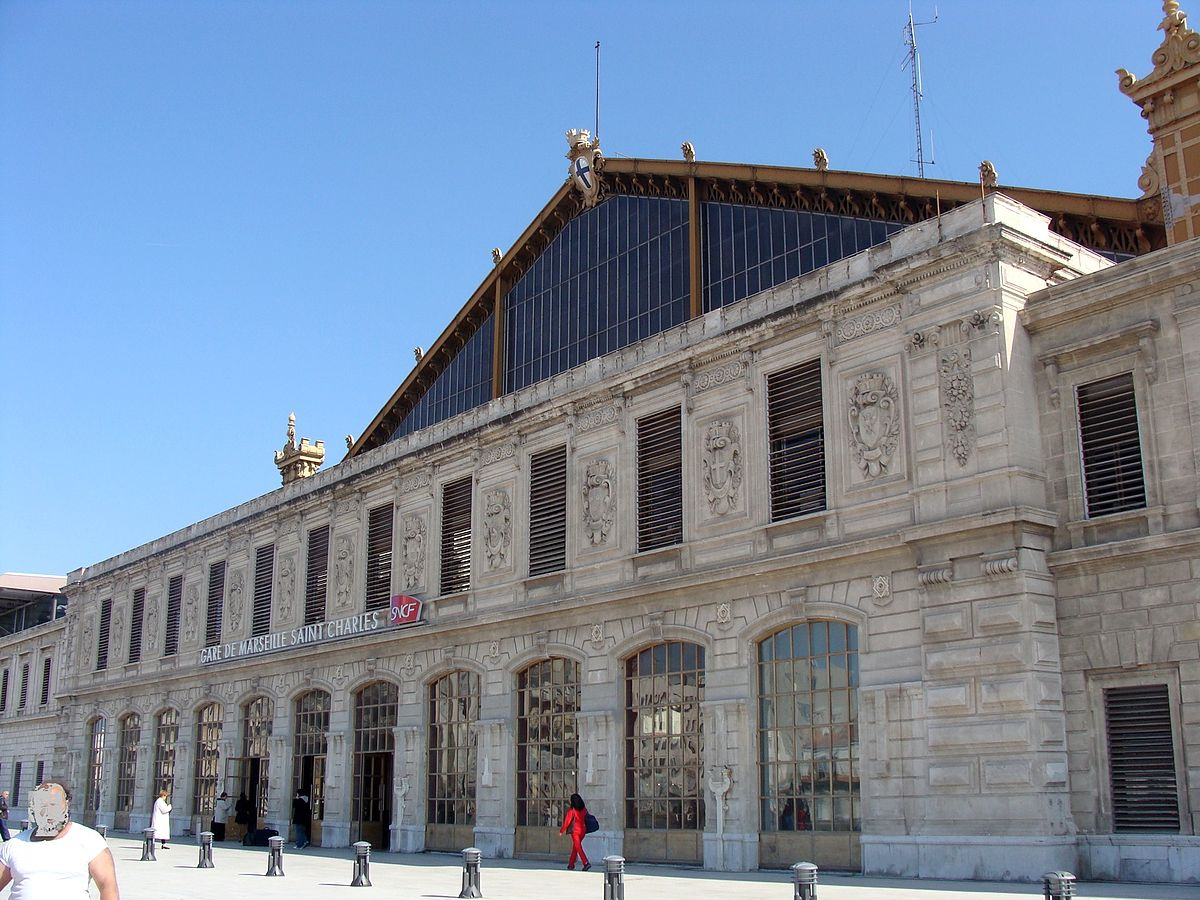 gare de marseille saint charles wikip dia. Black Bedroom Furniture Sets. Home Design Ideas