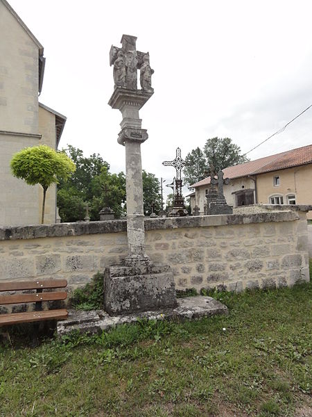 Marson-sur-Barboure (Meuse) croix de chemin B