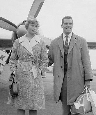 Mary Rand - Bignal with Eef Kamerbeek in 1960