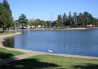 Marysville, California - Ellis Lake, Centerpiece of the city.