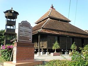 Kampung Laut Mosque - The Kampung Laut Mosque.