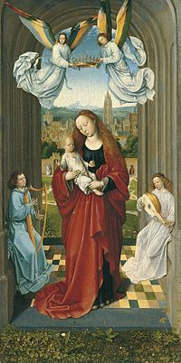 Master of the André Virgin - The Virgin and Child between Angels 1930.62.jpg