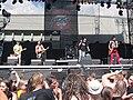 Masters of Rock 2010, Visací zámek.jpg