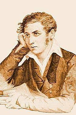 Matania Edoardo - Ritratto giovanile di Carlo Cattaneo - xilografia - 1887.jpg