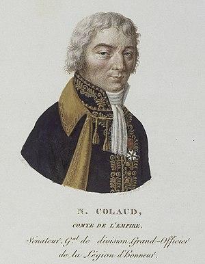 Claude-Sylvestre Colaud - Claude Silvestre, Count Colaud.