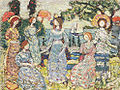 Maurice Prendergast (1858-1924) - The Grove (1915).jpg