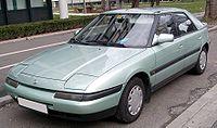 Mazda 323f green front 20080301