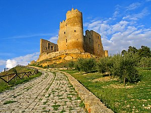 Mazzarino, Sicily - U Cannuni castle.