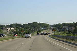 McFarland, Wisconsin - Panorama along U.S. Route 51