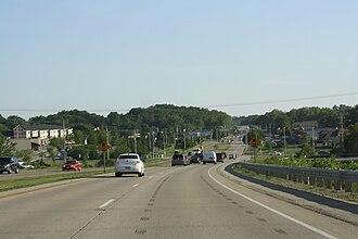 McFarland, Wisconsin - Panorama along U.S. Route 51