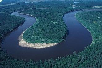 Innoko National Wildlife Refuge - Image: Meandering River 2 Innoko NWR