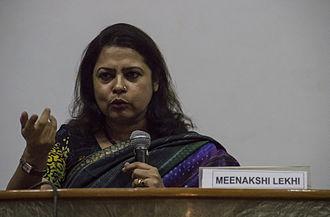 Meenakshi Lekhi - Image: Meenakshi Lekhi