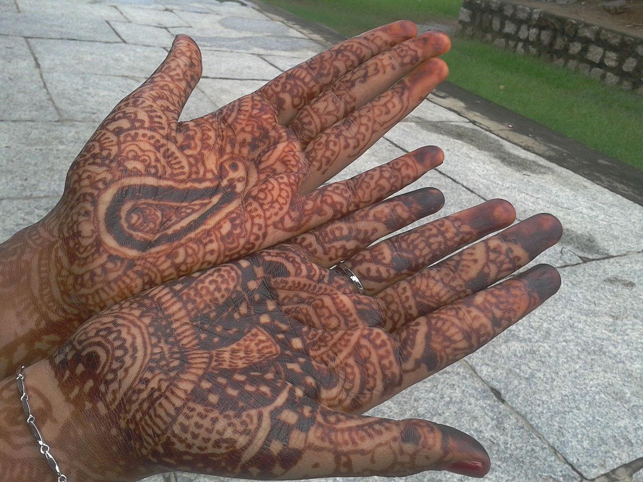 Mehndi Henna Wikipedia : Enjoy the beautiful artwork of mehndi henna india