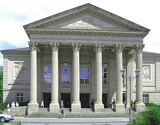 Meiningen Court Theatre theater in Meiningen, Thuringia, Germany