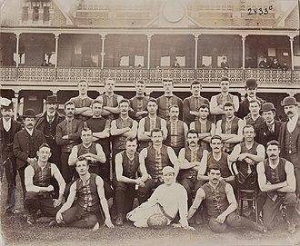 Joe Wilson (Australian footballer) - The Melbourne Football Club team in 1895