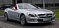 Mercedes-Benz SL 350 (R 231) – Frontansicht geöffnet (1), 22. Mai 2013, Düsseldorf.jpg