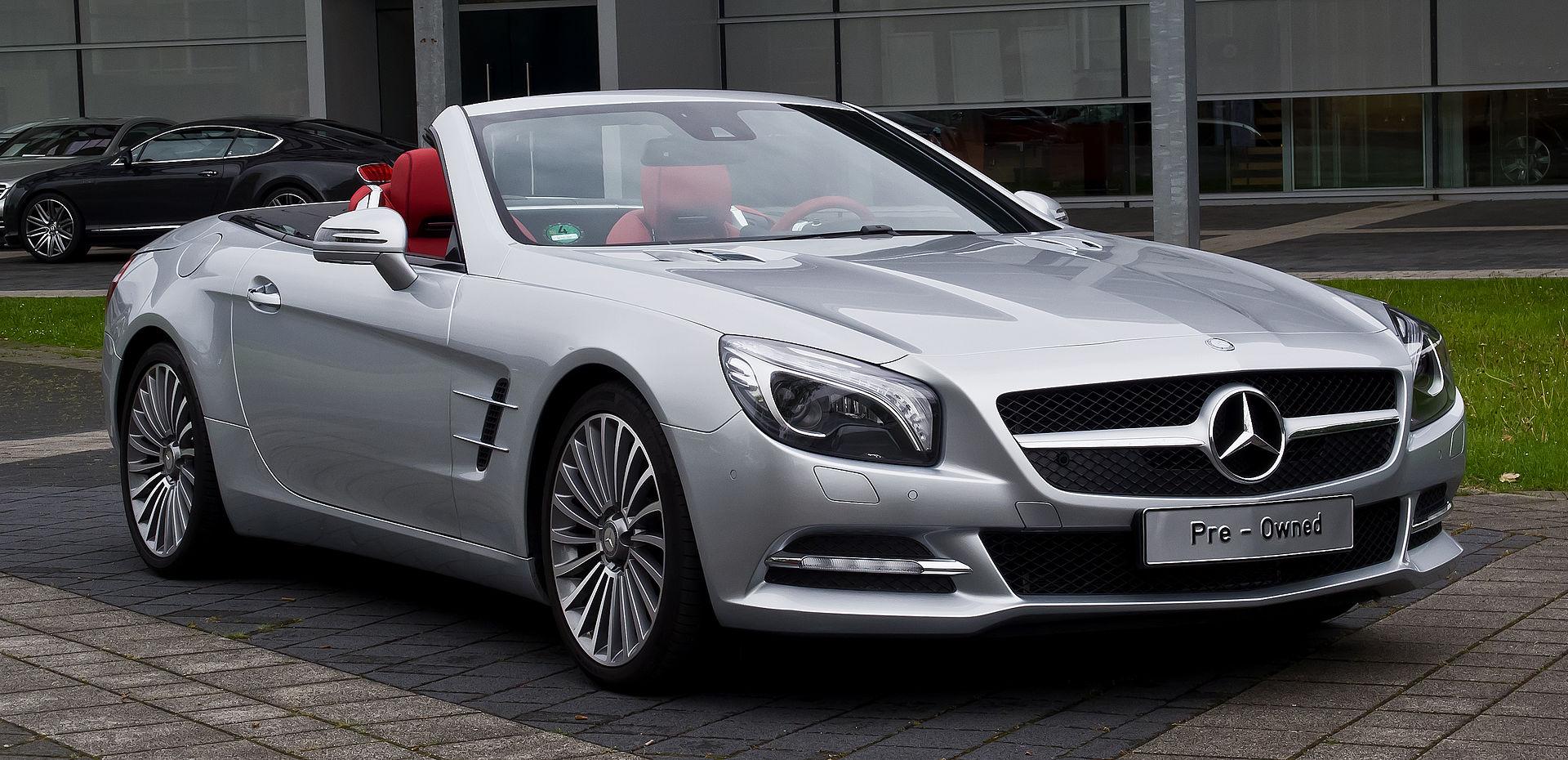 Mercedes benz sl class r231 wikipedia for Mercedes benz sl