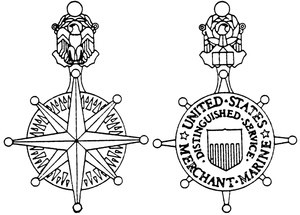 Merchant Marine Distinguished Service Medal line drawing.png