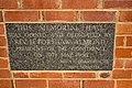 Methodist Memorial Hall foundation stone at the Leeton Uniting Church.jpg
