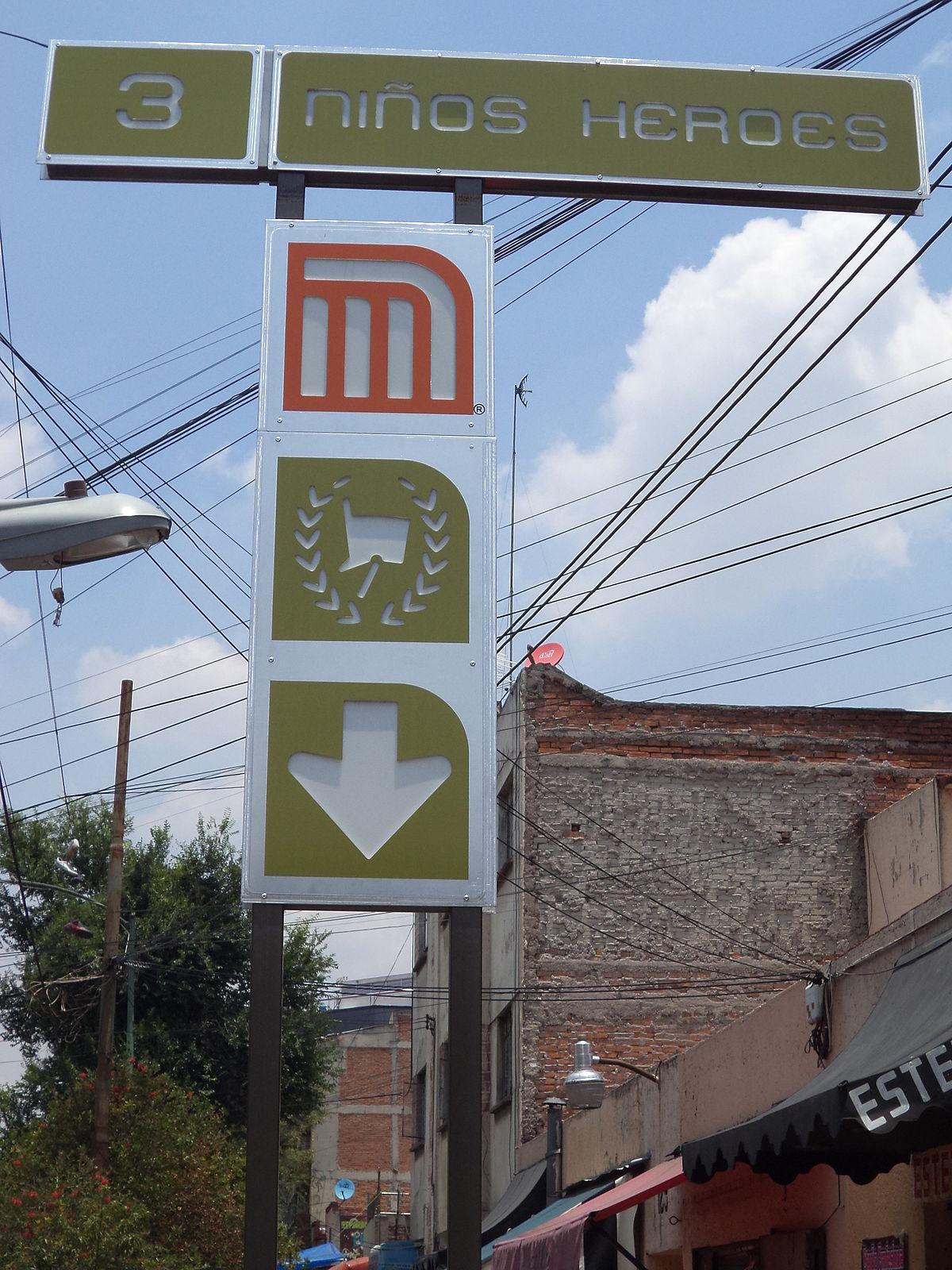 Metro Ninos Heroes Poder Judicial Cdmx Wikipedia