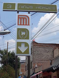 Metro Niños Héroes / Poder Judicial CDMX Mexico City metro station