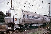 Pennsylvania Railroad Metroliner car, built by Budd, circa 1968