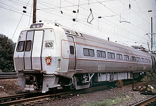 Budd Metroliner class of American electric multiple unit cars